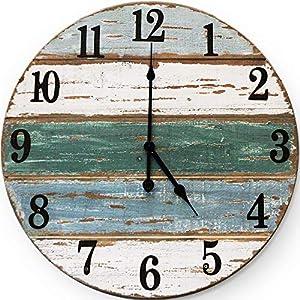 61fFvWzp7hL._SS300_ Coastal Wall Clocks & Beach Wall Clocks