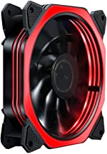 120mm Case Fan 3 Type Color LED for PC Computer Quiet Radiator Mod 12V (Red)