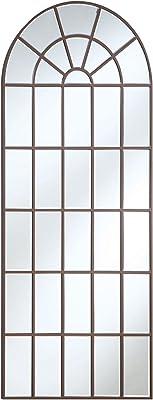 Amazon.com: My Swanky Home Carrefour Iron Mirror - 9 Panes ...