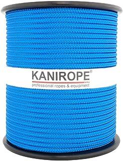 Kanirope PP Seil Polypropylenseil MULTIBRAID 4mm 100m Farbe Blau 0912 16x geflochten