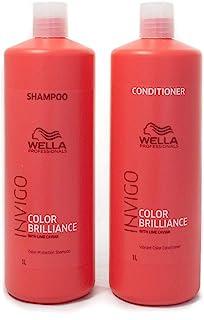 Wella Invigo Color Brilliance Shampoo and Conditioner Duo, 2 x 1000ml