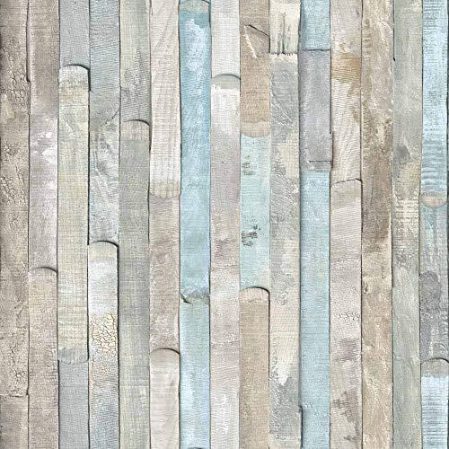 "d-c-fix Self-Adhesive Film, Beach Wood, 17.71"" x 78"" Roll, 346-0644"