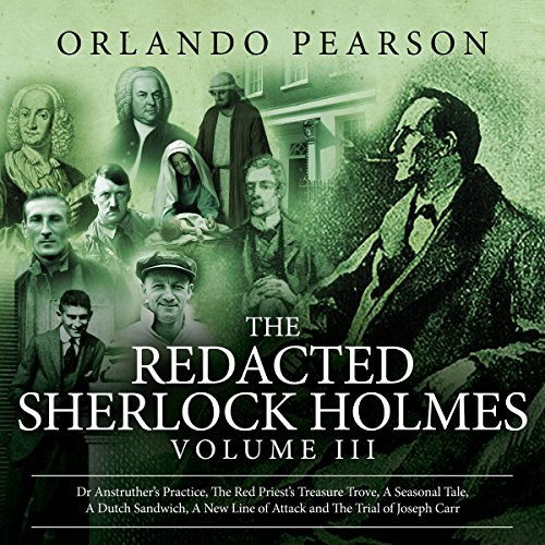 Couverture de The Redacted Sherlock Holmes, Book 3