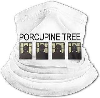 Porcupine Tree - Pasamontañas para el cuello con protección UV, resistente al viento, multifunción, para niños y niñas