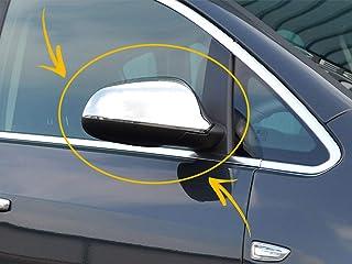 Per Opel/Vauxhall ASTRA J 2010 UP 5Door/3Door/Berlina/Estate/Hatchback Acciaio Inox Cromato Wing Mirror Cover Protector Si...
