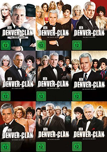 Denver Clan - die komplette Serie (Staffel 1-9) im Set - Deutsche Originalware - [58 DVDs]