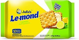 Julie's Le-Mond Puff Sandwich Lemon Biscuits, 170 g