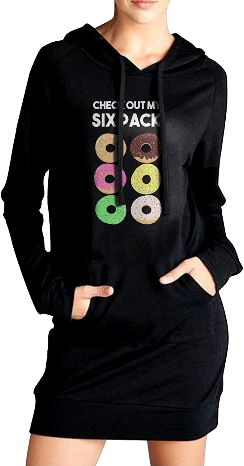FJEEDMA Check Out My Six Pack Solid Long Sle Hoodie Donut Sales of supreme SALE items from new works Woman
