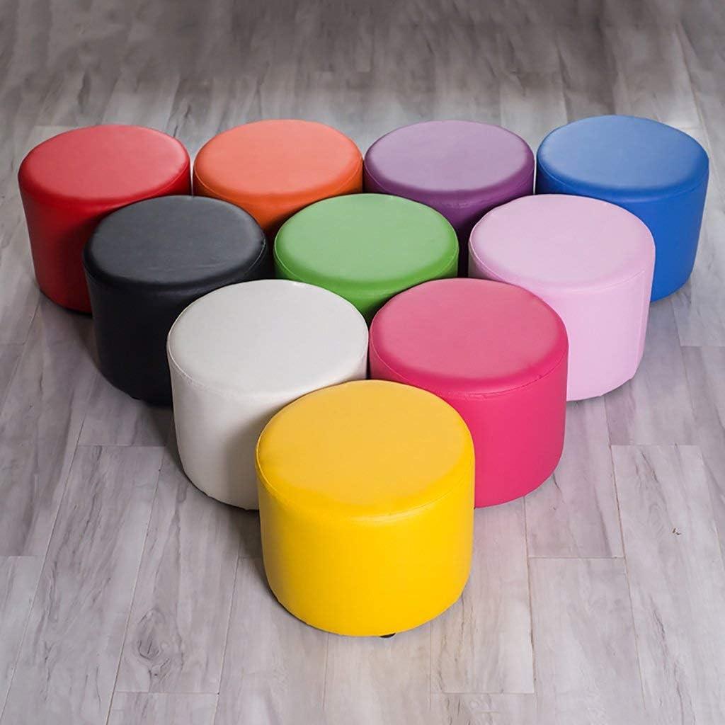 Nyfcc Tabouret Solide Salon Maison Bois Court canapé Salon Tabouret Table Basse Chaise Repose-Pieds Siège Changement Banc de Chaussures (Couleur: G) (Color : A) I