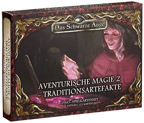 DSA5 Spielkartenset Aventurische Magie 2 Traditionsartefakte (Das Schwarze Auge - Zubehör)