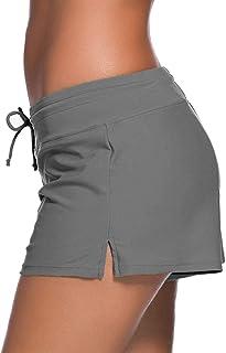 Womens Swimwear Shorts Beach Boardshort Trunks