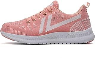 SKLT Women Running Shoes Lightweight Lace Up Sneakers Breathable Mesh Non Slip Sport Shoes Jogging Athletics Basket Footwear