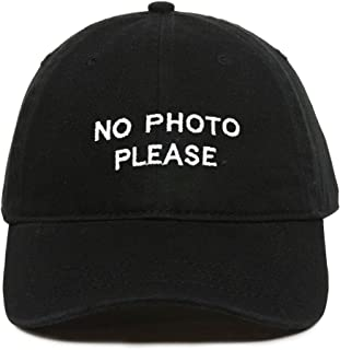 no photos please hat