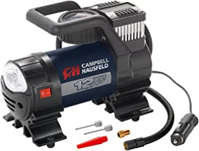 Mighty Portable Inflator, 12V, 150 PSI Air Compressor, Pump with Safety Light & Accessories (Campbell Hausfeld AF010400)