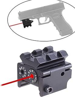 ADAFAZ Red Dot Laser Sight for Weaver or Picatinny Rail Lazer Sights for Rifle Handgun Pistol
