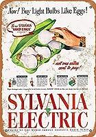 1945シルバニア電球卵のカートン収集壁アート