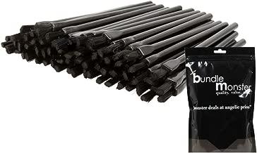 BMC 100pc Disposable Cosmetic Makeup Lipstick Brush Wand Applicators