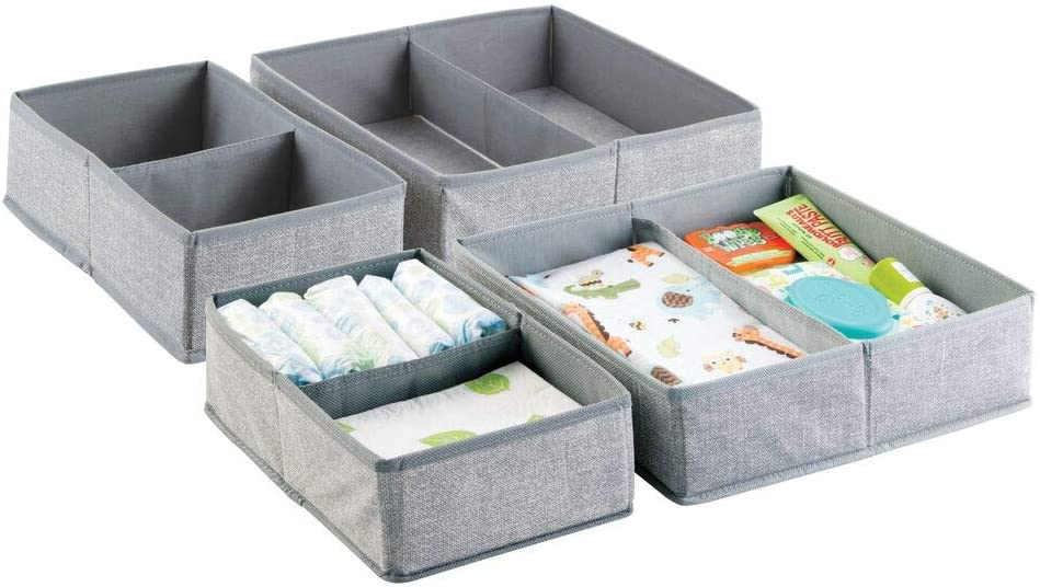 mDesign Soft Fabric Dresser Drawer Today's only Max 58% OFF and Closet Organizer Storage