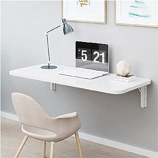 ZWYSL Table Pliante Murale, Bureaux Pliants pour Le Travail À Domicile, pour Étude Chambre Buanderie Balcon Cuisine Bureau...