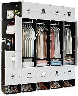 Spécial/Simple Armoire plastique plastique armoire armoire pour chambre à coucher Vêtements armoire Commode Multi-Use Cube...