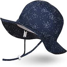 Ami&Li tots Niño Sombrero de Sol ala Ancha Ajustable Sombrero Protección Solar UPF 50 para Bebés, Niñas Niños Infantil Pequeñito Unisexo