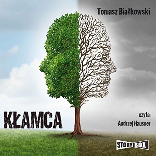 Kłamca audiobook cover art