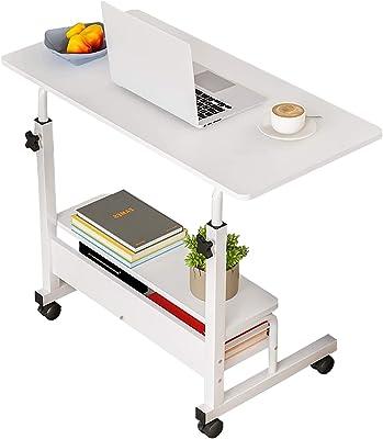 Office Desks for Home Study Desk Work Desk for Small Spaces Desk Computer Desk Stand Up Desks with Storage Portable Desk for Bedrooms Gaming Table Furniture Writing Desk,Adjustable Desk 31.5x15.7 Inch