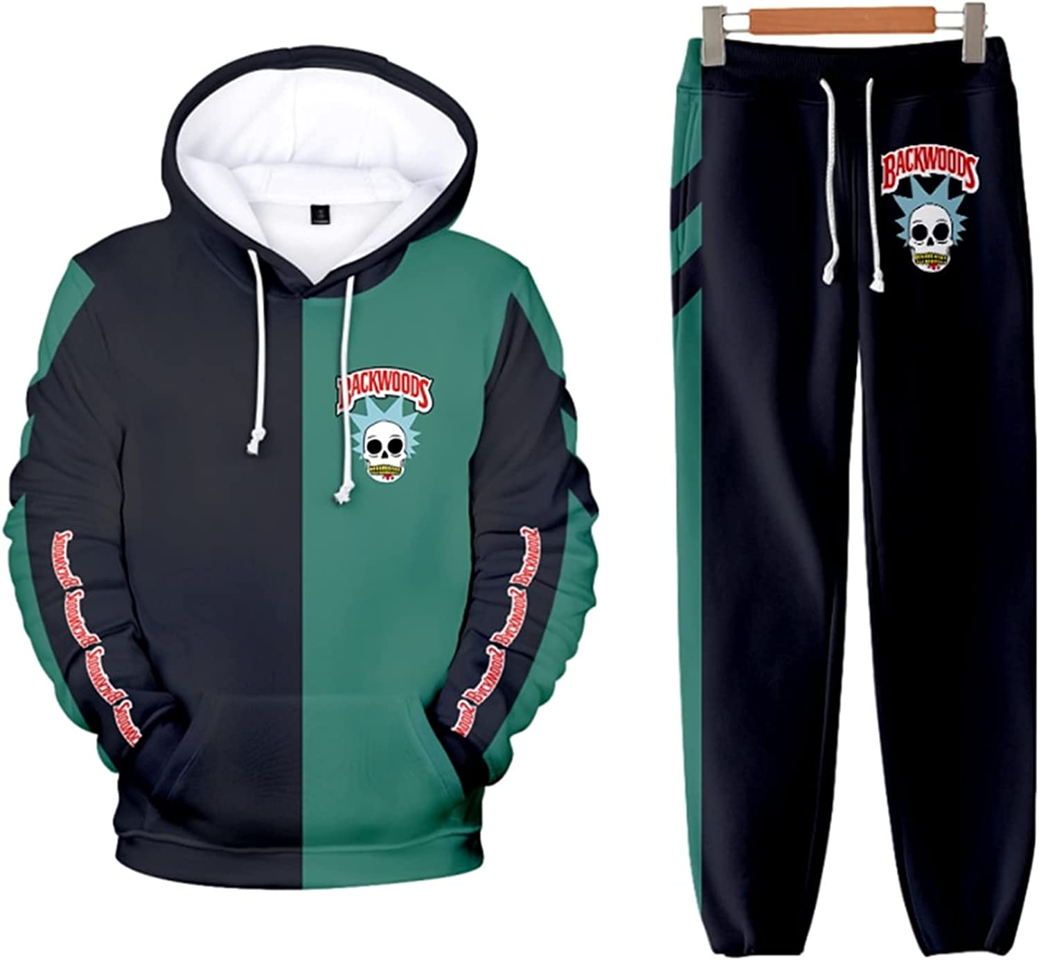 KAMIZE Cigar Funny Hoodie Sweatpants Sweatsh Suit Fashion Casual Brand new Gifts