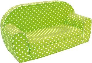 Bino & Mertens 53005 soffa, grön/flerfärgad, 41,5 x 35,5 x 77 x 7