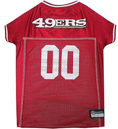 NFL SAN FRANCISCO 49ERS DOG Jersey, X-Small