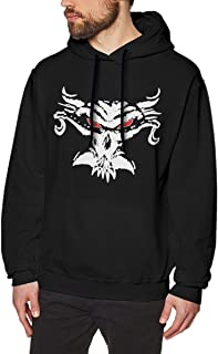 Men's Hoodie Brock Tshirt Le-snar Sweatshirt Cotton Sweater Black