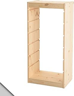 ikea solid pine shelves