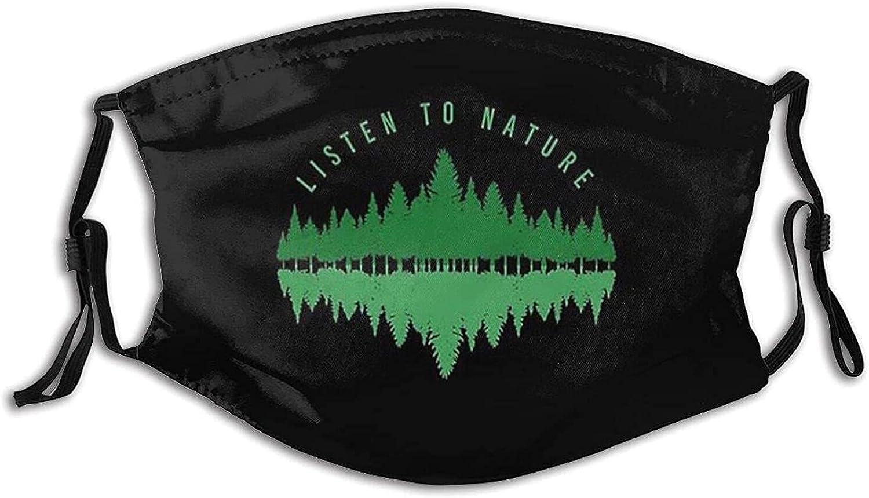 World Environment Day Face Mask Earth Mask Balaclava Bandanas Reusable Fabric Mask with 2 Filter