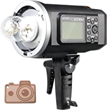 Godox HSS AD600BM Bowens Mount 600Ws GN87 High-Speed Sync Outdoor Flash Strobe Light, 8700mAh Battery Pack to Provide 500 Full Power Flashes