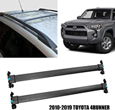 Yeeoy Roof Racks Crossbars Baggage Roof Rack Rail Black Cross Bar Fits 2010-2019 Toyota 4Runner