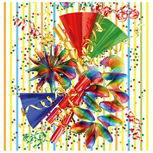 Susy Card Servet 33/3/20 carnaval, verpakking van 20, gelast, A3