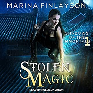 Stolen Magic     Shadows of the Immortals Series, Book 1              By:                                                                                                                                 Marina Finlayson                               Narrated by:                                                                                                                                 Hollie Jackson                      Length: 5 hrs and 22 mins     11 ratings     Overall 4.0