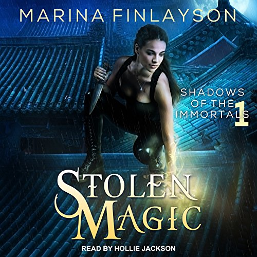 Stolen Magic audiobook cover art