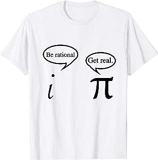 Funny Get Real Math Geek T-shirt | Math Teacher Gift T shirt