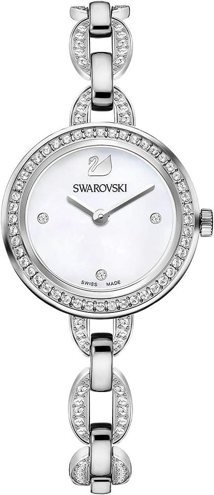 Swarovski aila orologio da donna quadrante in medreperla e cassa in acciaio 2724664107308