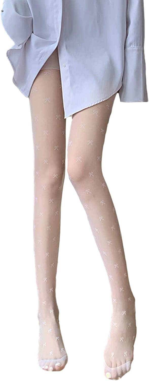 1 Pair Thigh High Stockings Lace Stockings Pantyhose Stocking Tights for Women Girls Valentine's Day