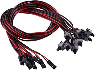 Network parts 10 PCS Computer Chassis Power Switch Cable