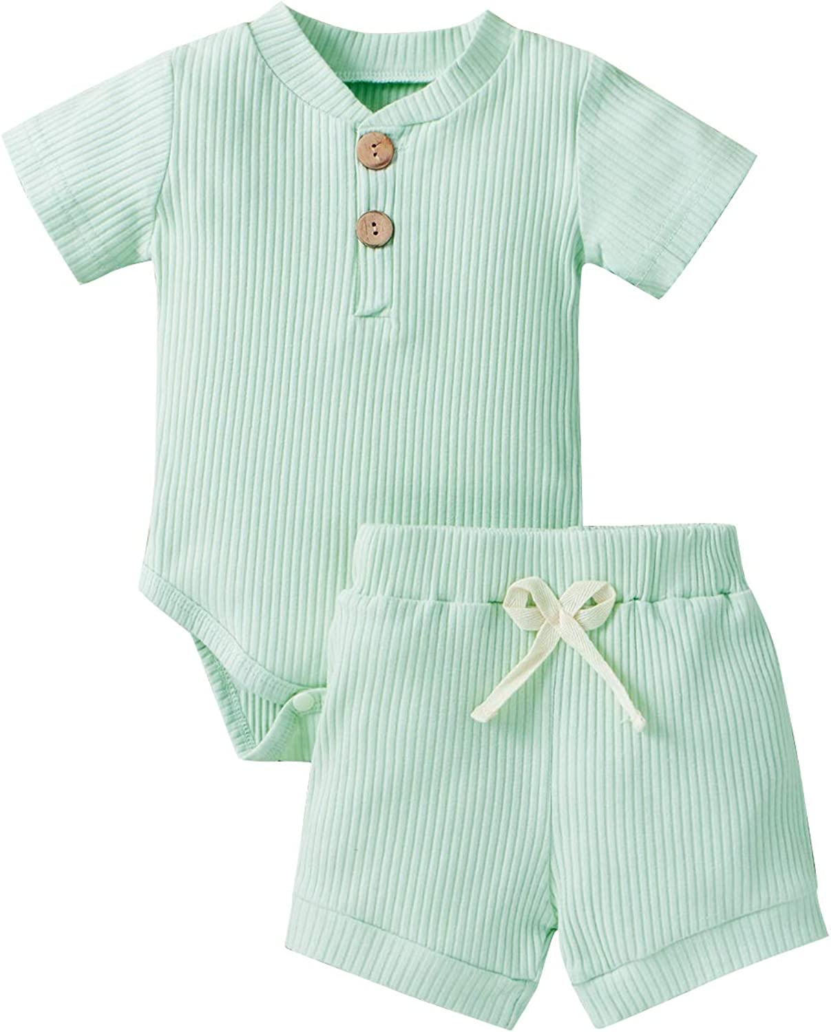 Infant Baby Boston Mall Boy Clothes Set Newborn Unisex Daily bargain sale Summer Outfit