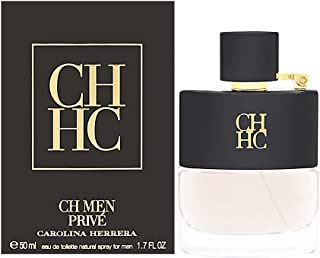 Carolina Herrera CH Men Prive, Eau de Toilette 1.7 Fluid Ounce
