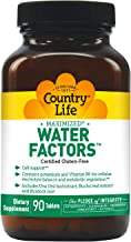 Country Life Water Factors Formerly Known As Diuretic Factors 90 Tabs Estimated Price : £ 22,71