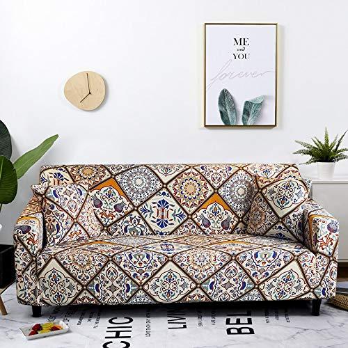 Copridivano elasticizzato elasticizzato per soggiorno Asciugamano per divano stile Boemia Copridivano per divano completamente avvolto anti-polvere Braccio per poltrona Fodera per divano A2 3 posti