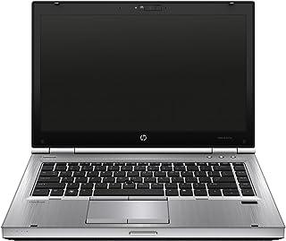 HP 惠普 EliteBook 8470p 35.56厘米(14英寸 HD +)?#22987;?#26412;电脑(英特尔 Core i5,4 GB,320 GB,英特尔 HD 4000,,Windows 10 Pro)银色(经?#29616;?#21644;翻新)