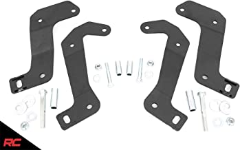 Rough Country Front Control Arm Relocation Kit compatible w/ 2018-2020 Jeep Wrangler JL Gladiator JT w/ 3.5