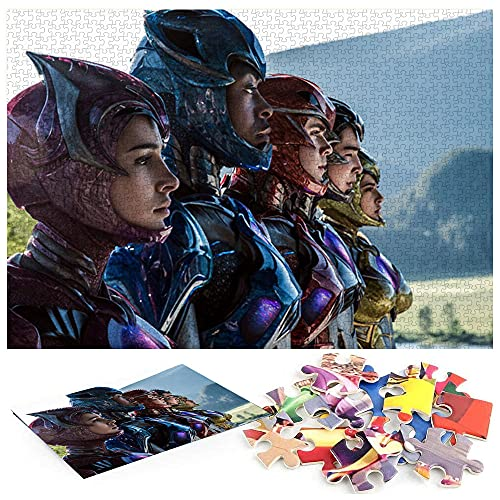 Power Rangers Dacre Montgomery Becky g Super-héros Puzzle 1000 PièCes Les Jouets éDucatifs pour Adultes sont Parfaits pour Les FêTes De Famille