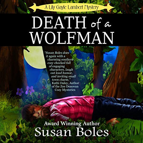 Death of a Wolfman audiobook cover art
